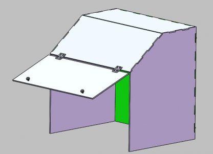 ラボボックス 50CM 底なし アクリル Lab Box My-Shield