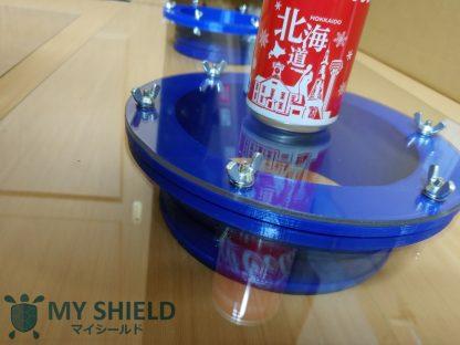 グローブポート PCRウオークスルーブース PCR小屋 マイシールド 発熱外来用 ワクチン接種用 ワクチン小屋 診療ブース 穴4個 6インチポート My-Shield My Shield